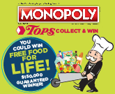 TOPS Monopoly Collect & Win