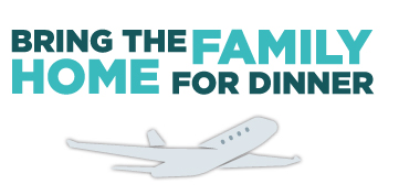 Family Meals Bring the Family Home for Dinner Logo