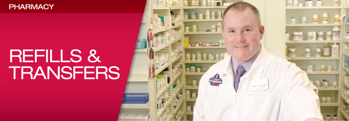 Pharmacy Refills & Transfers Header