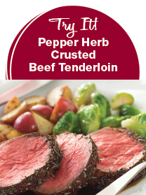 Recipe: Pepper Herb Crusted Tenderloin