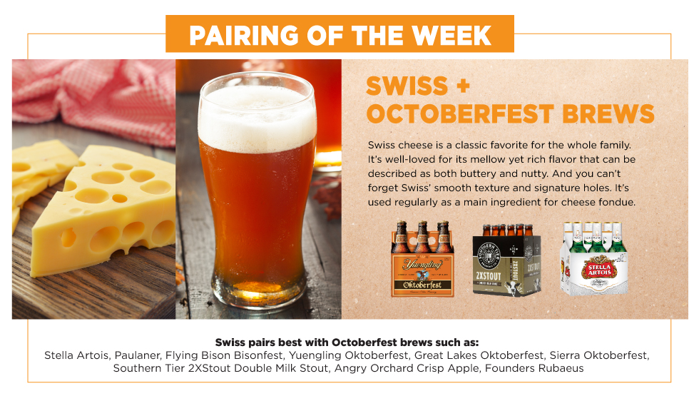 Havarti Plus Ales and Double Blocks, Pairing of the Week