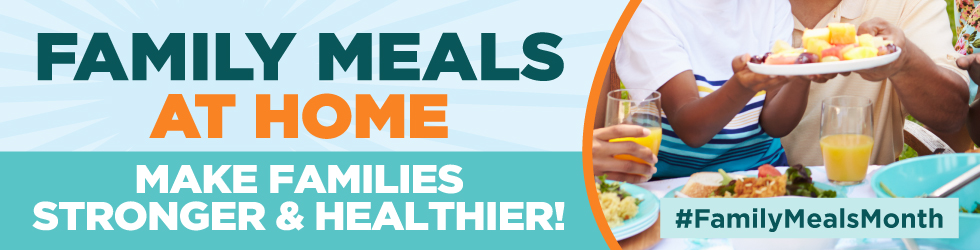 We're commited to helping you make family meals at home