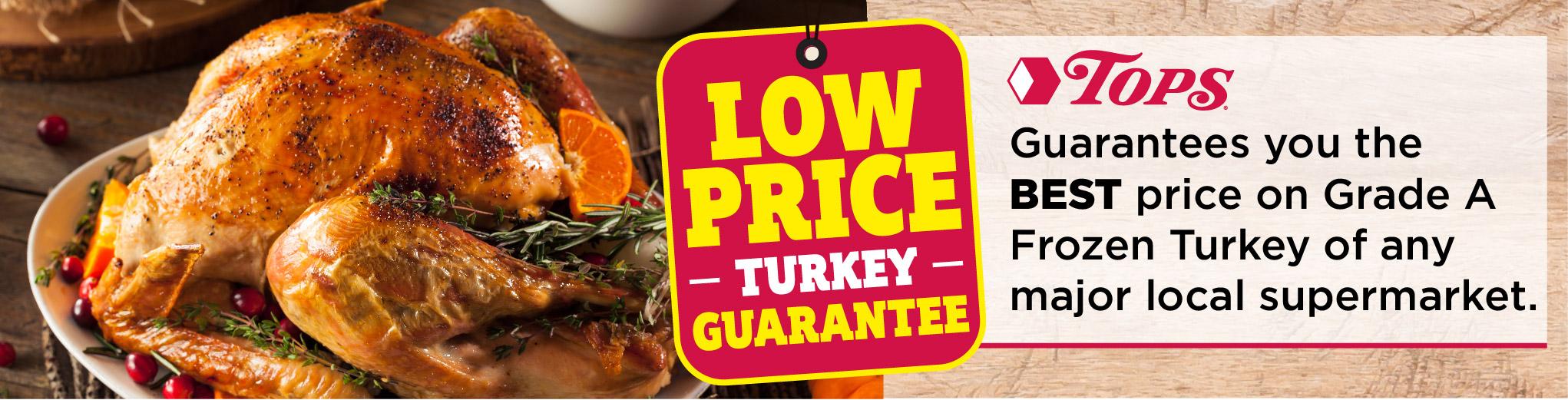 Tops Friendly Markets Turkey Guarantee