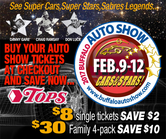 Buffalo Auto Show Tickets
