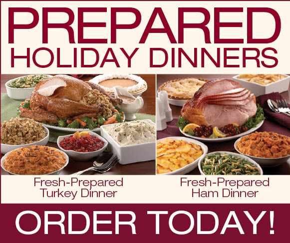Complete Holiday Dinners