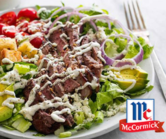 Black n Blue Grilled Steak Salad Recipe