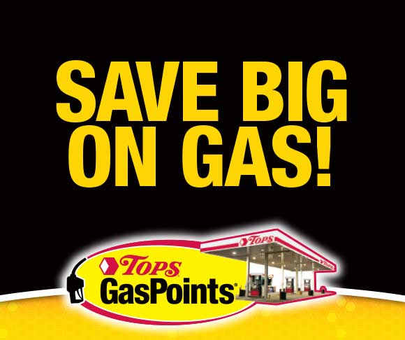 Save Big with TOPS GasPoints