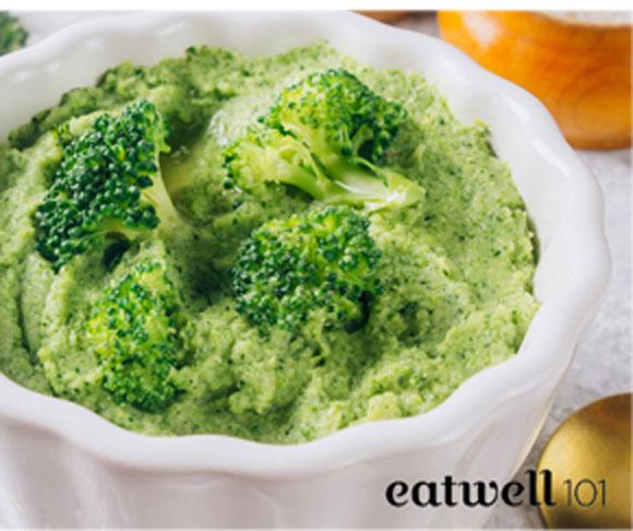 Broccoli Mash with Garlic & Parmesans Recipe