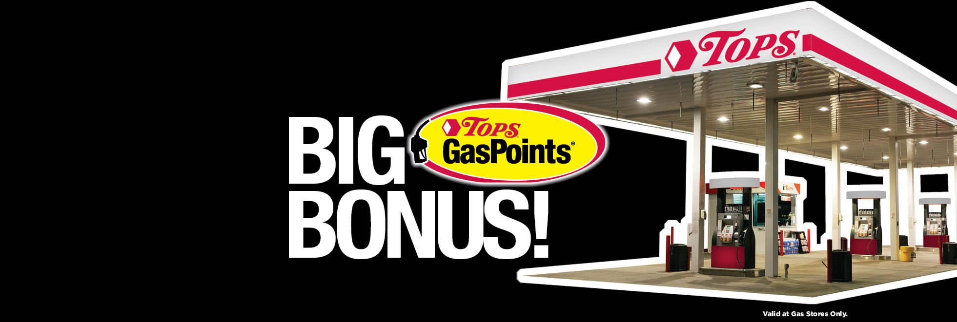 Big TOPS GasPoints Bonus