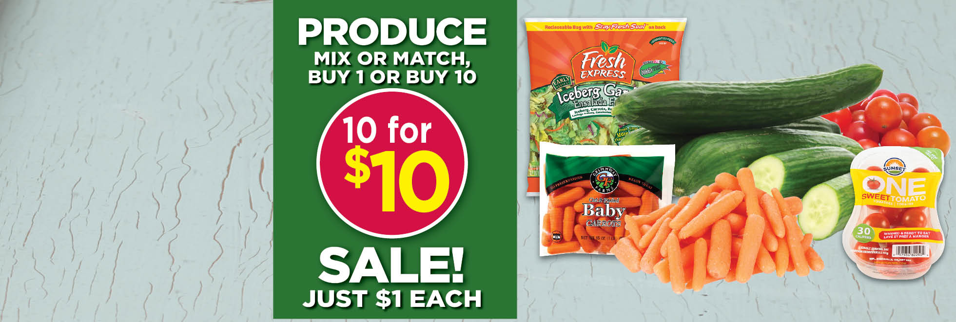 Major Produce Savings