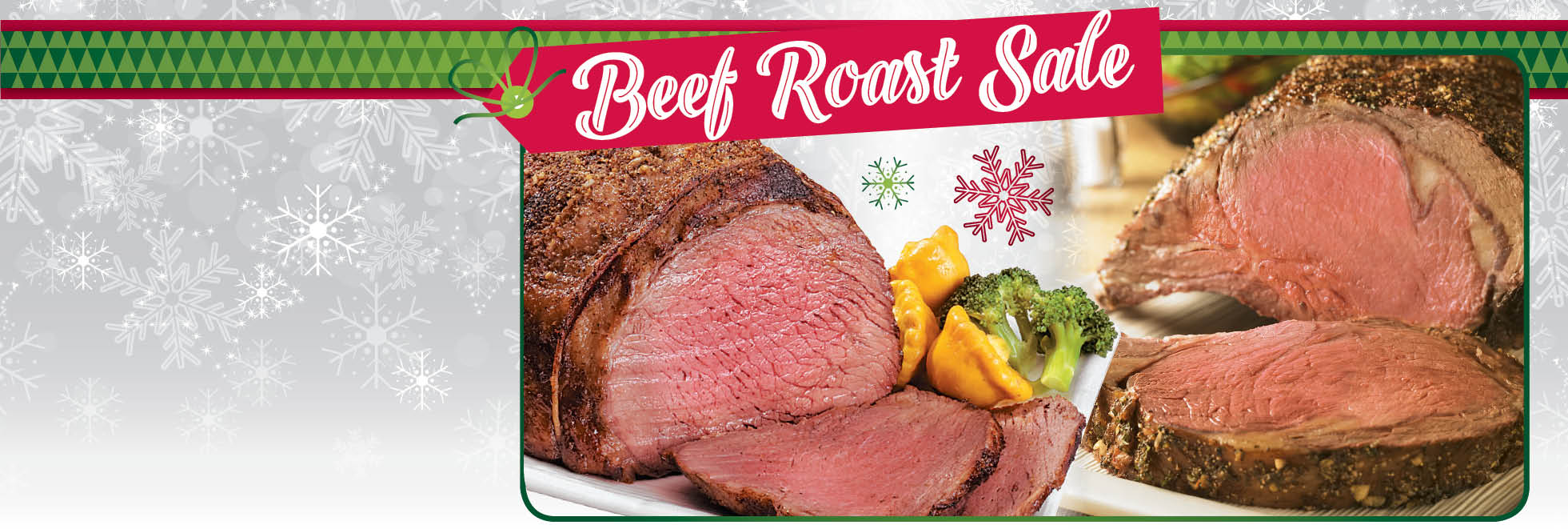 Beef Roast Sale