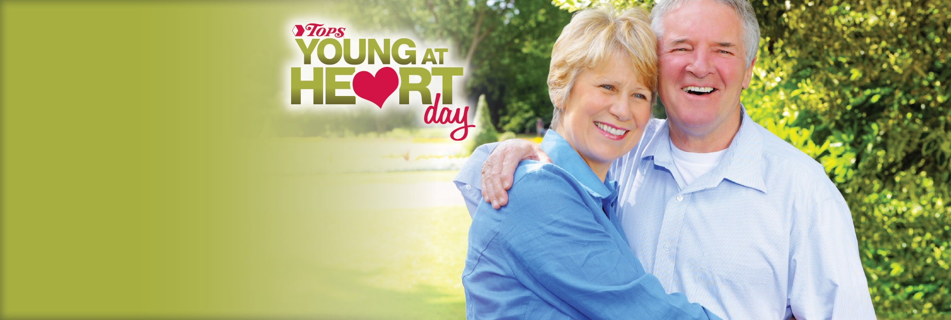TOPS Young At Heart Day is Tuesday, December 6th