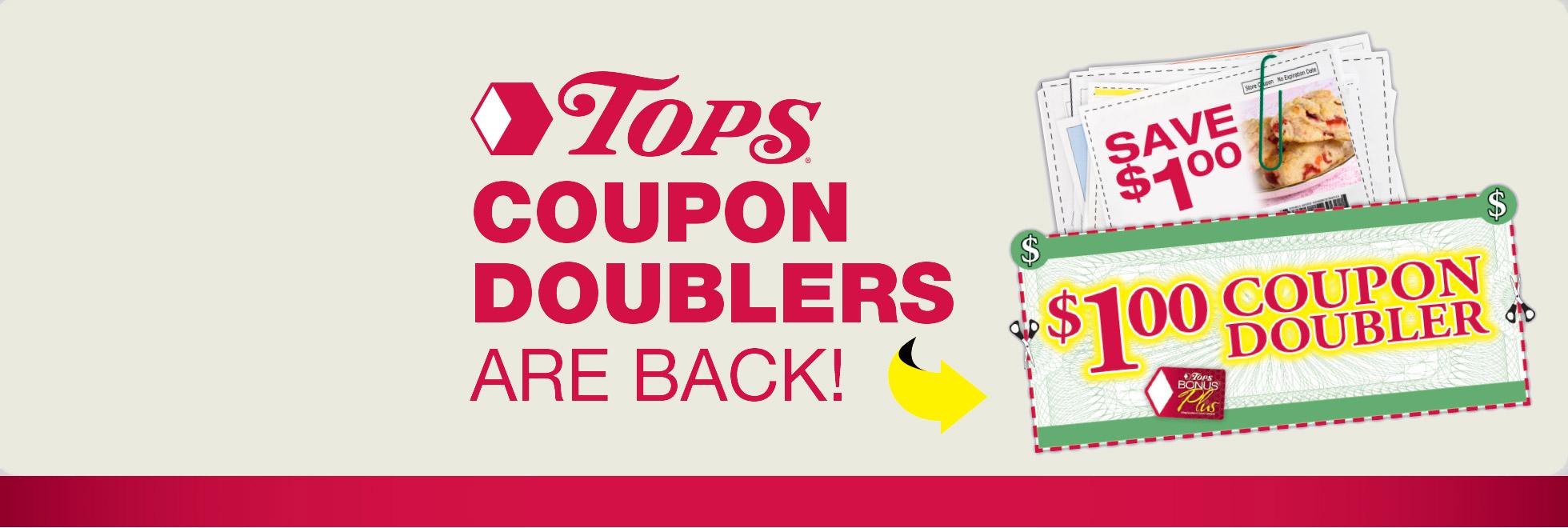 Tops super coupons