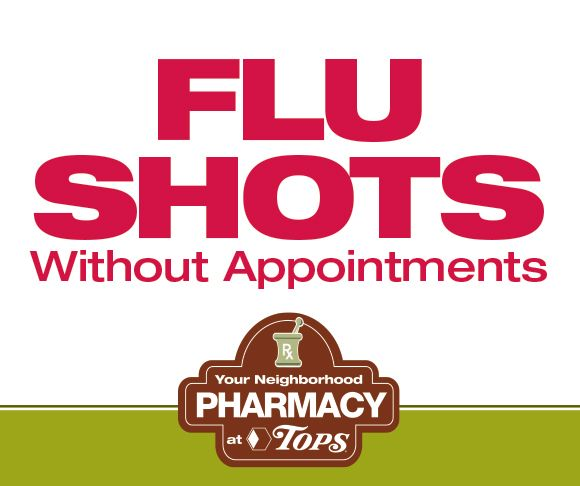 Flu Shots Without Appointments