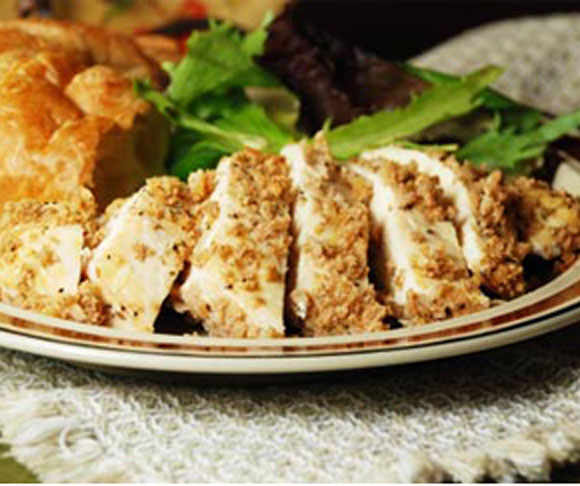 Breaded Oregano Chicken