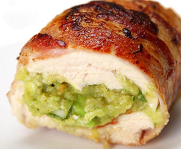 Bacon Guacamole Chicken Breasts
