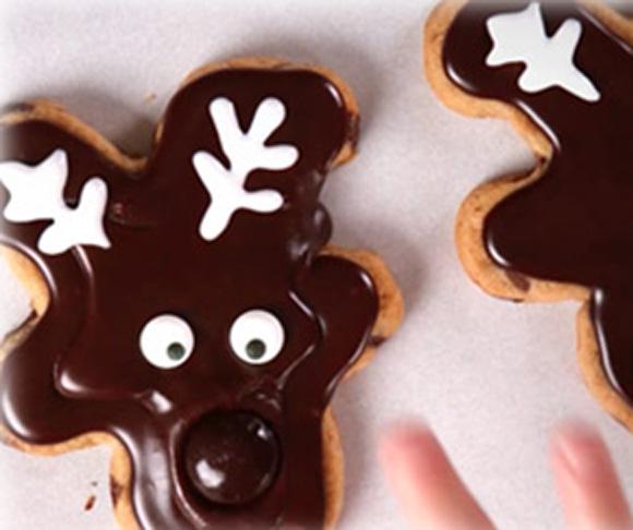 Chocolate Chip Reindeer Cookies Recipe