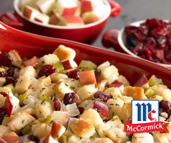 Cranberry Apple Stuffing Recipe