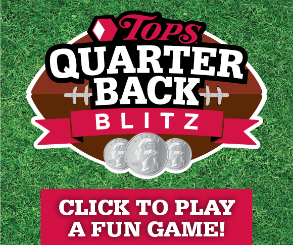 TOPS Quarter Back Blitz Game