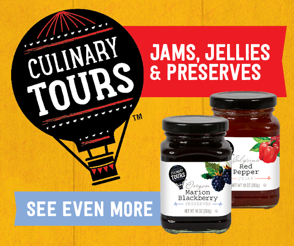 TOPS Culinary Tours Jams and Jellies