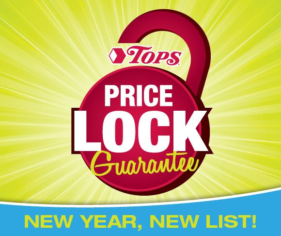 TOPS Price Lock Guarantee