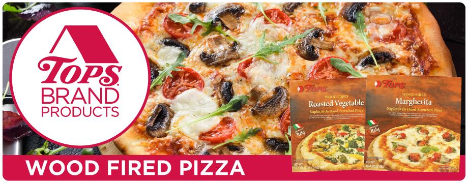 TOPS Brand Italian Wood Fire Pizza