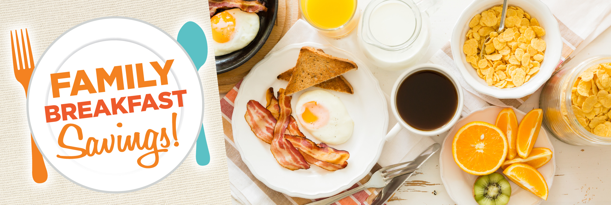 Family Meals Breakfast Savings