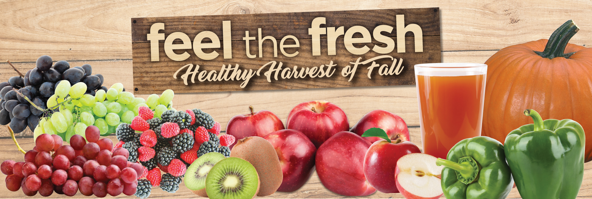 Feel the Fresh Healthy Harvest of Fall