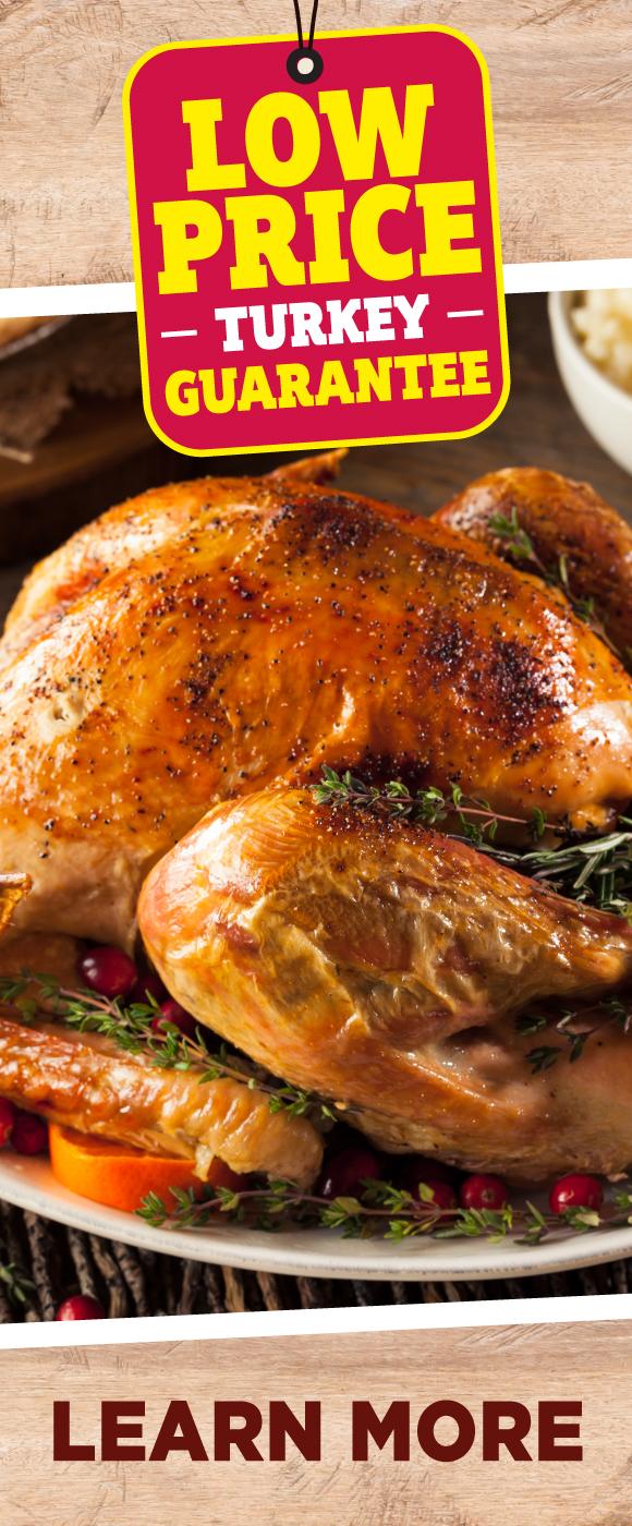 TOPS Low Price Turkey Guarantee