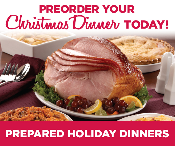 TOPS Prepared Holiday Meals
