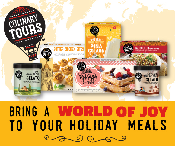 Bring a World of Joy to your Holiday Meals with a Culinary Tours without the Trip