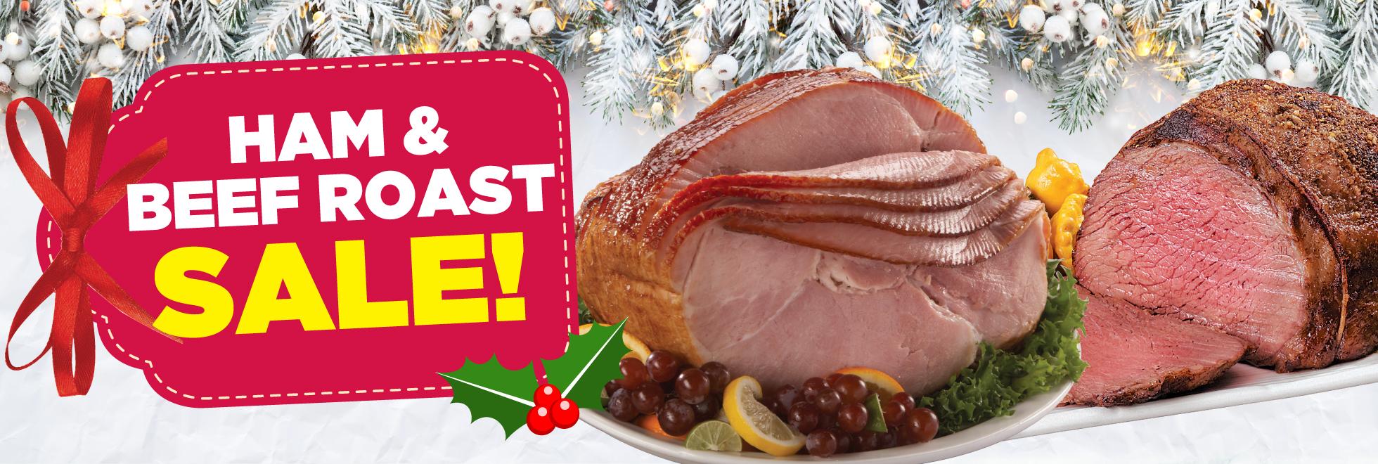 Merry Christmas Roast and Ham Savings