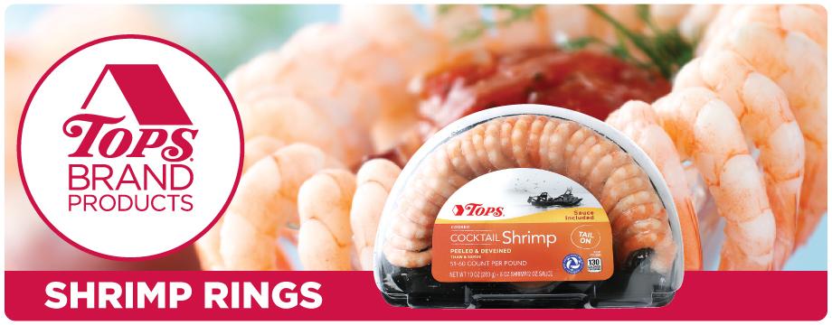 TOPS Brand Shrimp Ring