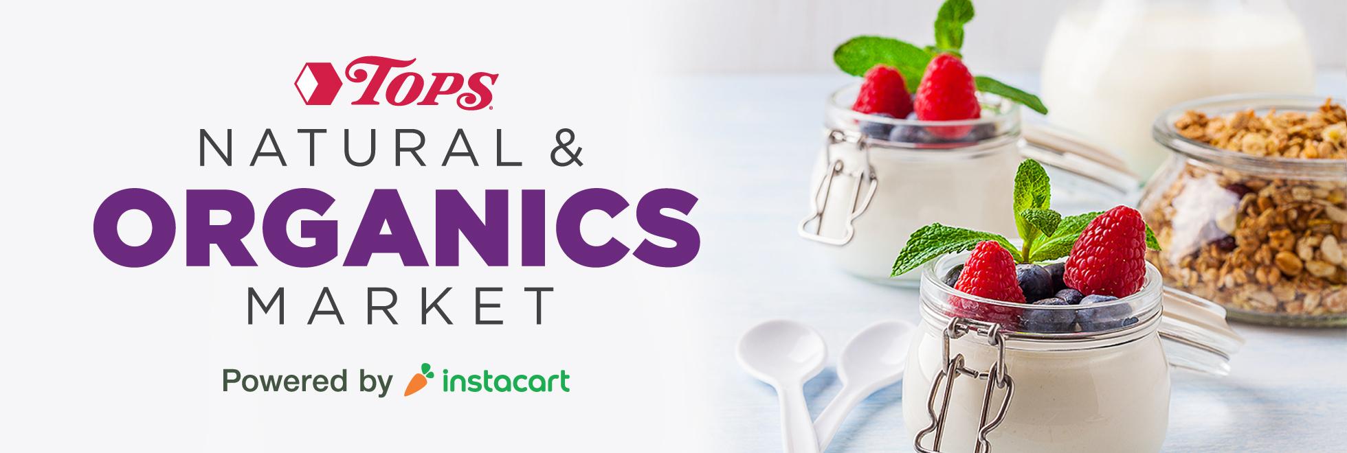 TOPS Natural and Organics