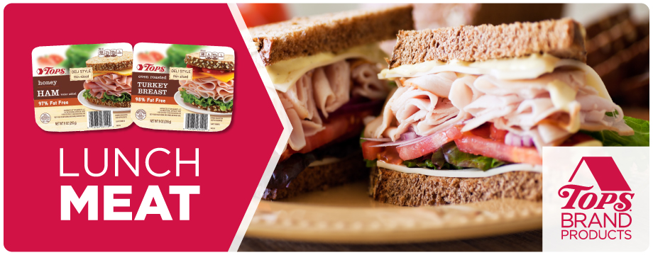 TOPS Brand Lunch Meat