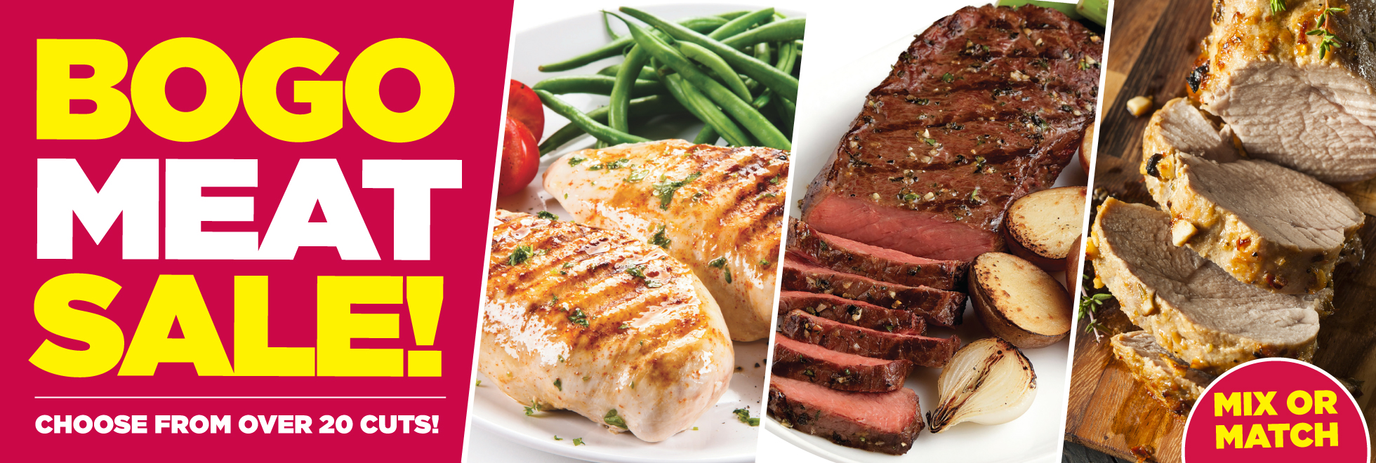 TOPS Buy One Get One Free Meat Sale