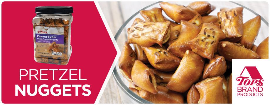 TOPS Brand Pretzel Nuggets