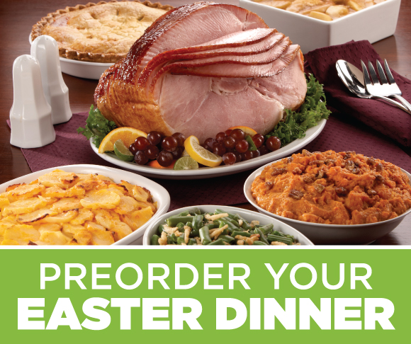 Order your Prepared Easter Meals Today