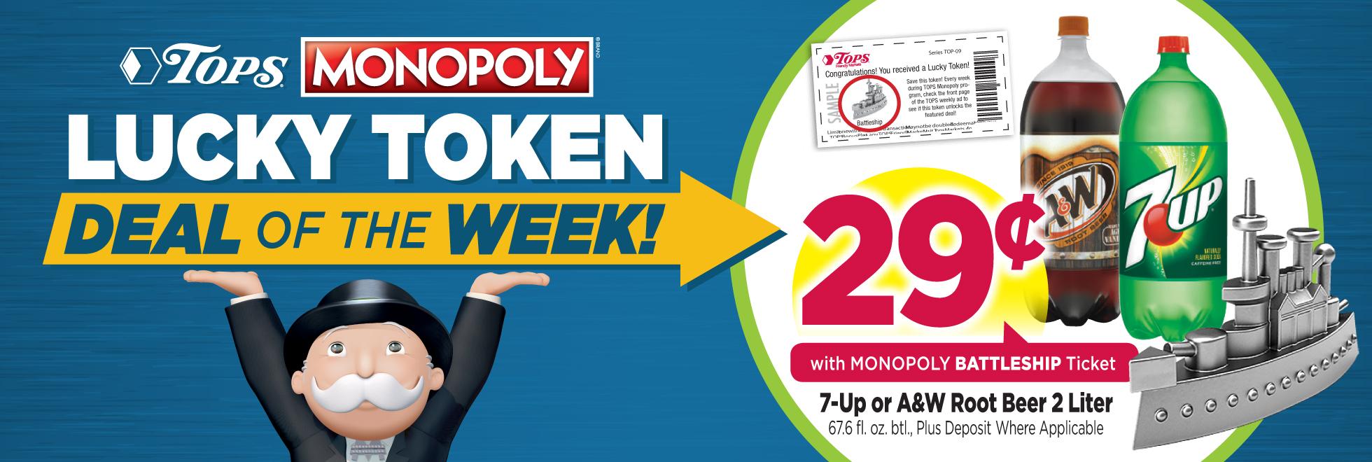 This Week's Lucky Token Deal