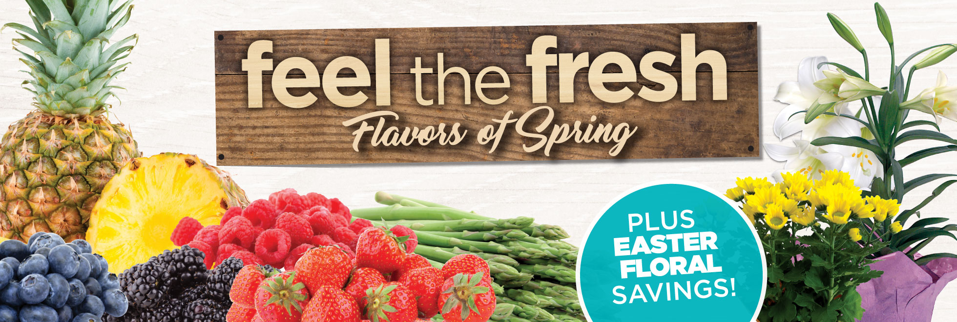 Feel the Fresh and Floral Savings