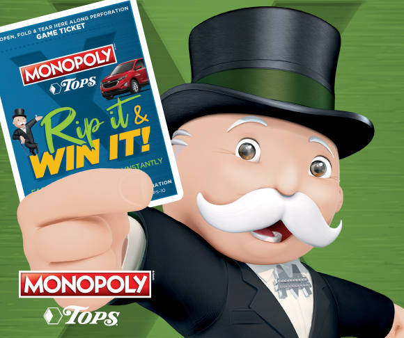 TOPS Monopolhy Rip It and Win It