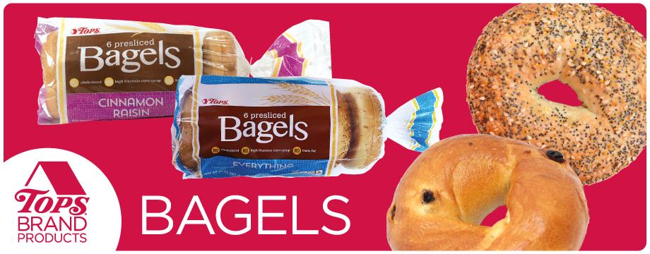 TOPS Brand Bagels