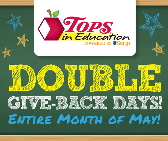 TOPS In Education Double Giveback Days