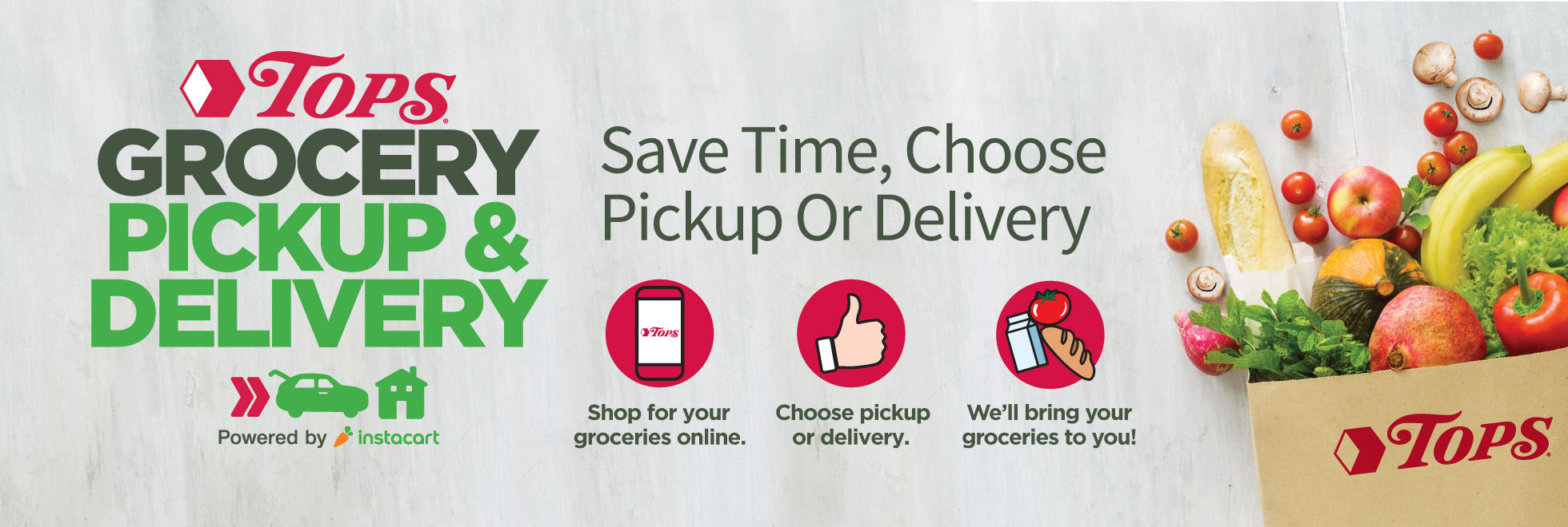 Instacart Grocery Pick-up and Delivery