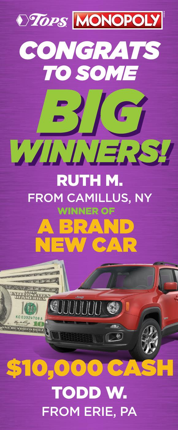 Monopoly Winners