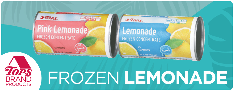 TOPS Brand Frozen Lemonade