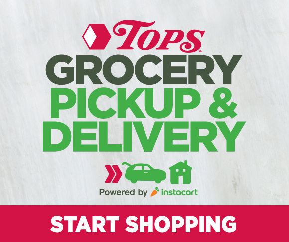 Tops Grocery Pickup or Delivery Service with Instacart