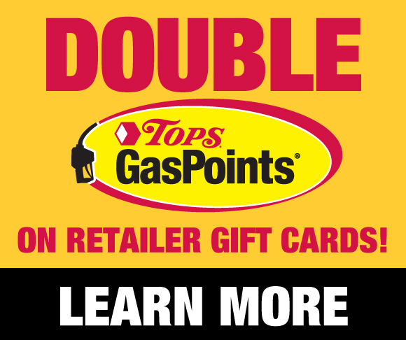 Double Tops GasPoints with Gft Cards