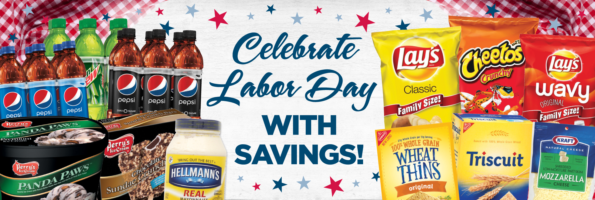 Celebrate Labor Day with Savings