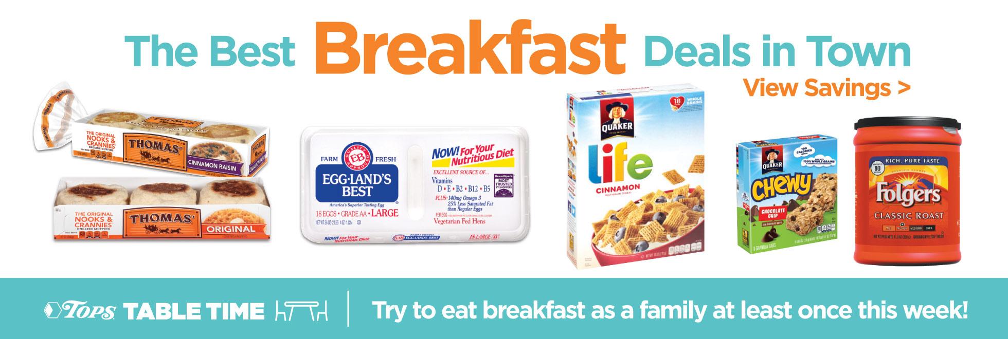 Breakfast Deals